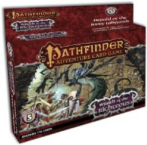 Pathfinder Card Game: Wrath Of The Righteous Adventure Deck 5: Herald of the Ivory Labyrinth